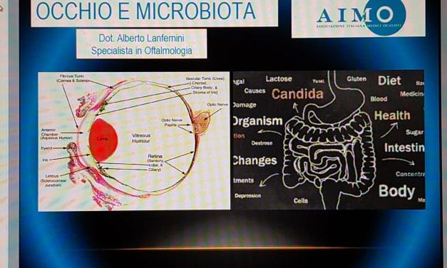 Microbiota intestinale, disbiosi e malattie dell'occhio (glaucoma, occhio secco, blefariti, uveiti,diabete, degenerazione maculare)