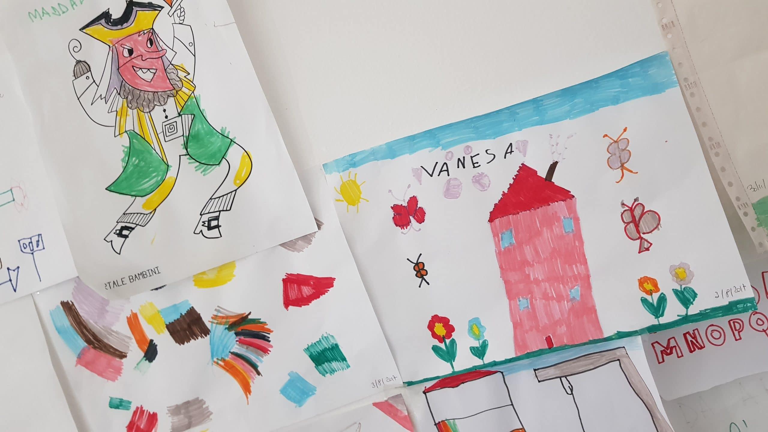 bambini disegni