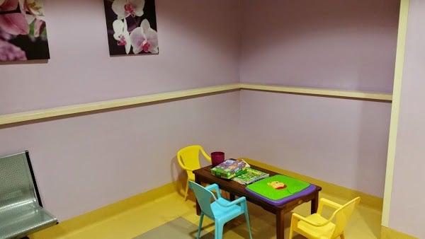 Sala attesa bimbi